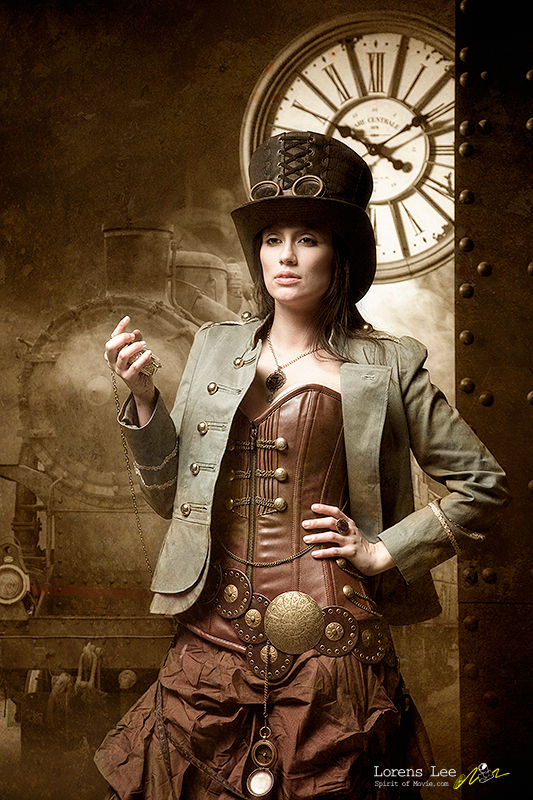 annuaire photographes suisse romande, lorens-lee-steampunk - http://www.spiritofmovie.com - Lorens Lee de Genève