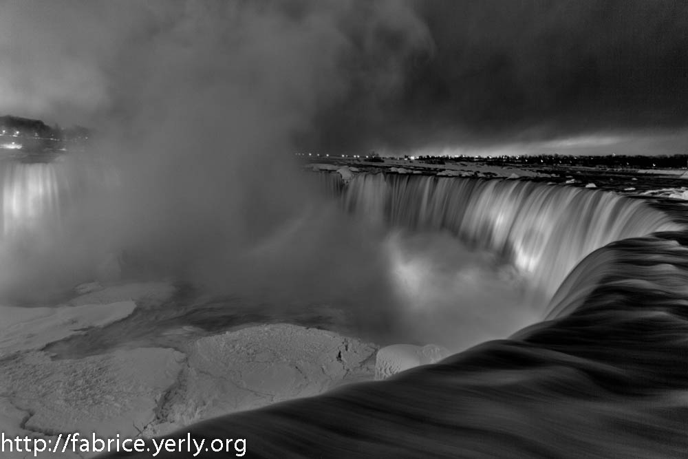 annuaire photographes suisse romande, Frozen Nigara Falls - Canada - http://fabrice.yerly.org - ByFabriceYerly de Montreux