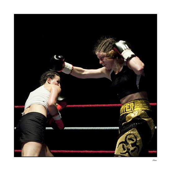 annuaire photographes suisse romande, Boxe pro féminine - http://www.alexandre-chatton.com/ - Alex de Lausanne