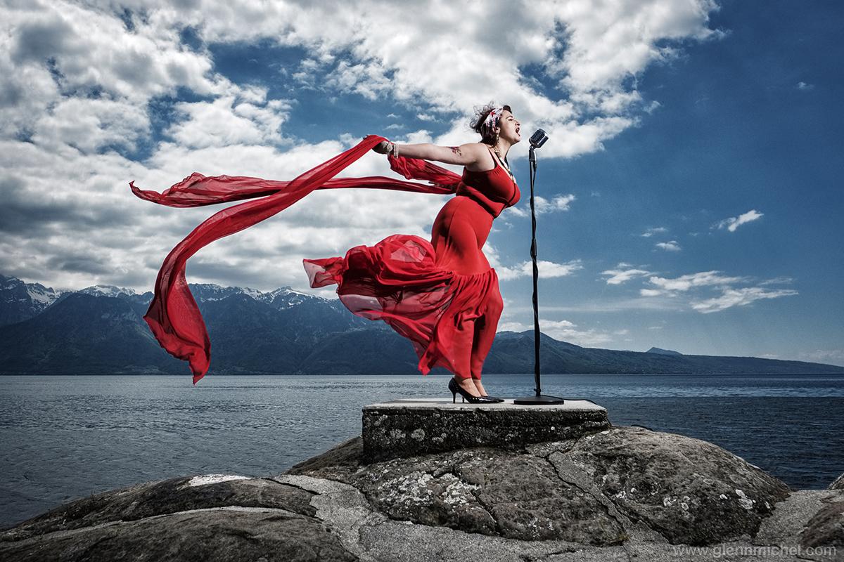 annuaire photographes suisse romande, Singers can fly - http://www.glennmichel.com - Glenn de Nyon