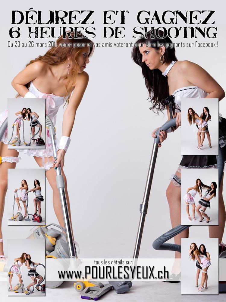 Affiche pour un concours de photo par Pourlesyeux de www.pourlesyeux.ch