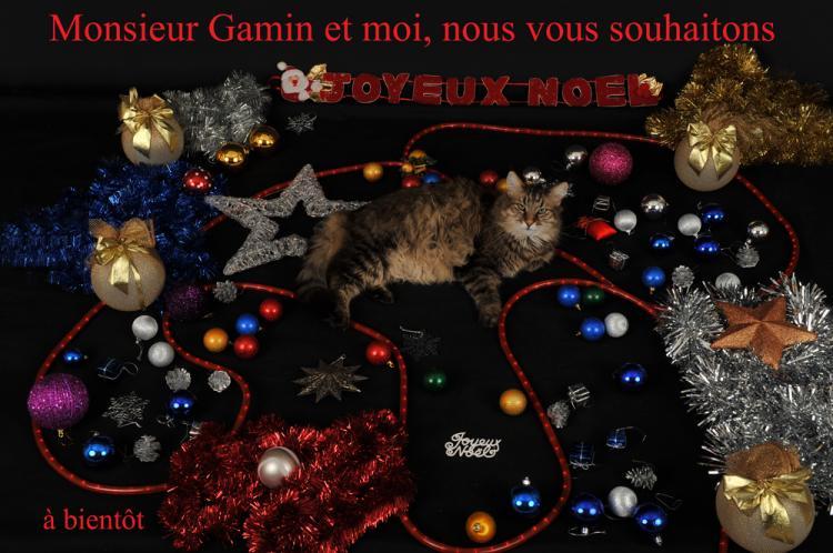 Monsieur Gamin vous souhaite un Joyeux Noël par by Bertrand de http://www.bybertrand.com
