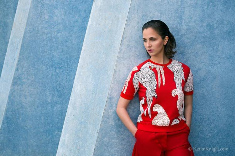 editorial, fashion, yeux clairs par IsaSch de https://vimeo.com/147375035
